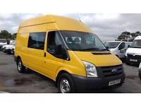 Ford Transit 2.4TDCi 100PS 350 LWB 9-SEATER EX COUNCIL