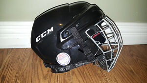 CCM Hockey Helmet with cage - Size Small (youth) St. John's Newfoundland image 1