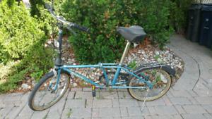 Dahon stow away folding bike