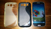 Samsung Galaxy S3 with cases