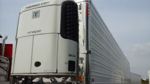 2012 or 2013 Reefer ThermoKing Trailer