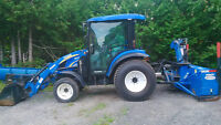 Tracteur NewHolland Boomer 3050 4x4 2013