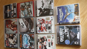 Sony Playstation 3 games
