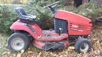 Toro lawnmower for parts