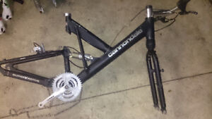 Cannondale VR2000 Bike Frame and Extras - FOX and more