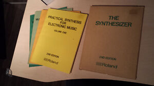 Synthesizer Roland synthétiseur 4 Livres 1979