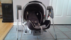 Graco swing for carseat Gatineau Ottawa / Gatineau Area image 1