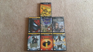 7 GAME CUBE GAMES $35 TAKES ALL OR TRADE