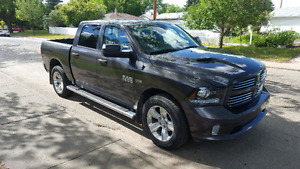 2014 dodge ram sport/tow package