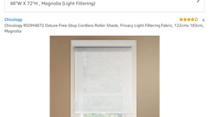 Brand New, Chicology Brand ,Roller Blinds!!! Great Deal!!