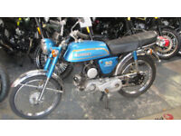 Suzuki AP50 1970's moped. French Import