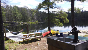 Private, Fully-Equipped Lakefront Campsite