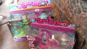 TWO ZOOBLES TOY SETS NEW UNOPENED