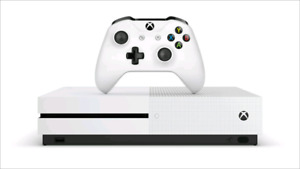 Xbox one S 1tb 370 firm new