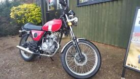 NEW Mash Roadstar 50 50cc motorcycle learner legal Red or Black 2 years warranty