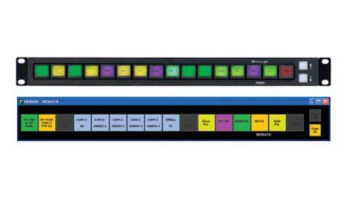 Miranda NV9641A LCD Button Router Control Panel XY Multi-destination