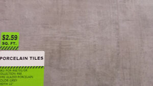"""PORCELAIN TILES ON SALE! 12x12"""" or 12""""x24"""" from $1.49/SF"""