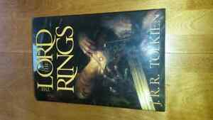 The Lord of the Rings Hardcover trilogy.