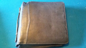 Leather CD or DVD case. Also blank DVDs, CDs & dual layer DVDs