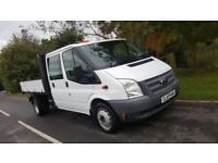 2014 64 FORD TRANSIT TIPPER 350 DOUBLE CAB 125BHP 2.2TDCI ANY UK DELIVERY