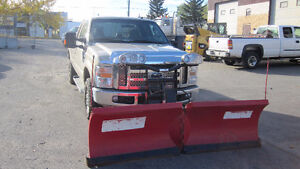 2010 Ford F-250 Pickup Truck and SNOW PLOW BOSS