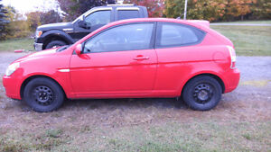 2007 Hyundai Accent Hatchback as is