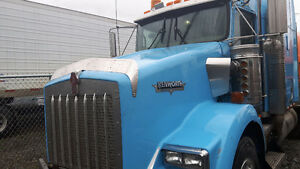 Kenworth T800 with Re-built cummins