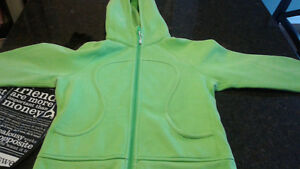 Two Lululemon size 6 hoodies