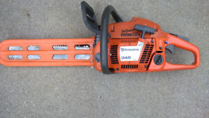 Husqvarna 345 Chainsaw. 45 CC 2-cycle engine