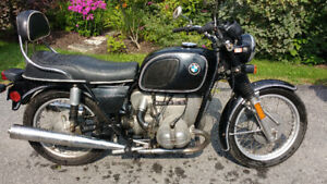 BMW R60/6 CLASSIC SPORT BIKE ** CAFE RACER PROJECT?  TRADES?**