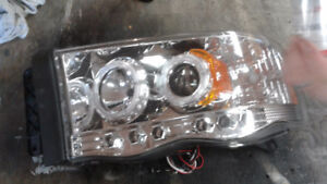2002 to 2006. RAM L.E.D. headlights NEW