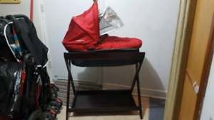 Uppa Baby Bassinet, Stand and Bug Net