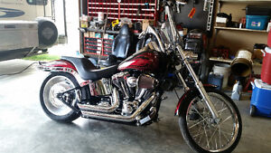 HARLEY DAVIDSON SOFTAIL FXSTC LIMITED EDITION