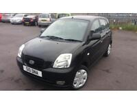 2005 05 KIA PICANTO 1.1 LX AUTOMATIC 5DOOR.GREAT EXAMPLE.LOW INSURANCE.S/HISTORY