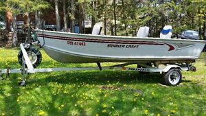 boat,motor and trailer package
