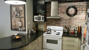 Dorval 3 1/2 - RENOVATED-HEATED- PKG