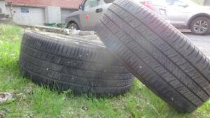 2 pneus d'été 205\55 R 16