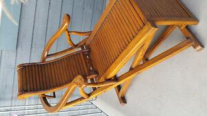 Magnifique Chaise en bois