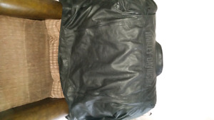 Leather Harley Davidson coat