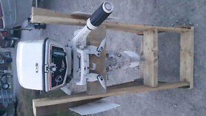 6hp johnson outboard motor shortshaft ,mint condition