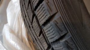 Winter tires  225/55R17 in very good condition