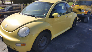 2004 VW beetle 2.0  181000km