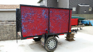 Utility trailer for sale.