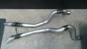 2 tail pipe 21/2 pouce mustang GT 87 a 93