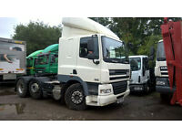 DAF CF 85 410 6X2 TRACTOR UNIT MID LIFT AXLE