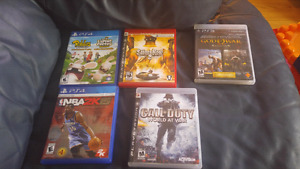 Ps4 and ps3 games. Super cheap