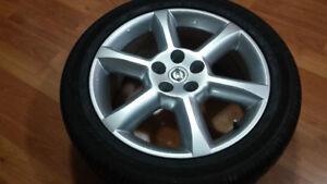 mag MAXIMA + 1 pneu été 245/45/18 tout neuf
