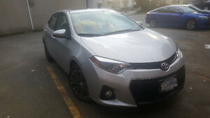 2014 Toyota Corolla S - (Premium) Lease Takeover! VERY LOW KMS!!