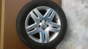 4 firestone 17 inch all seasion tires and rims