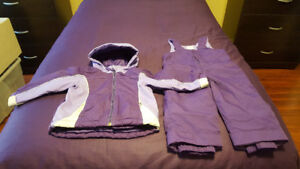 Girl's The Children's Place 2 Piece Snowsuit - Size 18/24 Months